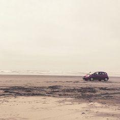 """I love how my car looked on the beach. #SoSexy #MyCar #HondaFit #BeachTime #SpringBreak15 "" Photo taken by @brianna_h16 on Instagram, pinned via the InstaPin iOS App! http://www.instapinapp.com (03/29/2015)"