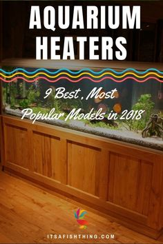 Looking for the best aquarium heater to keep your fishes water temperature warm and stable? Diy Aquarium Filter, Aquarium Set, Aquarium Gravel, Aquarium Heater, Home Aquarium, Planted Aquarium, Saltwater Aquarium, Cool Fish Tanks, Tropical Fish Tanks