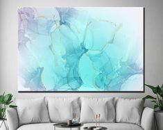 Large Canvas Prints Modern Wall Art for Home & by WALLARTSDECOR Large Canvas Prints, Map Canvas, Canvas Wall Decor, Wall Art Decor, Unique Wall Art, Modern Wall Art, Sunset Canvas, City Art, Blue Abstract