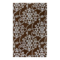 I pinned this Cosmopolitan Rug in Pale Blue & Chocolate from the Best-Selling Rugs event at Joss and Main!