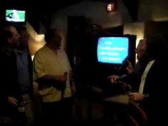 yellow submarine - YouTube  - Eddie singing karaoke in a bar.