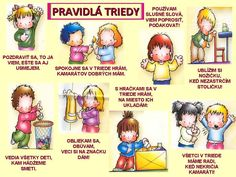 pravidlá triedy - Hľadať Googlom Preschool Decor, Preschool Activities, Indoor Activities For Kids, Kids And Parenting, Montessori, Kindergarten, Classroom, Teacher, Education