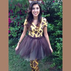 Giraffe costume!