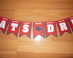 Handmade/Customized Graduation Banner