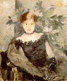Berthe Morisot - Le corsage noir