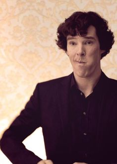 Can we just talk about how cute, funny and perfect Benedict face is?