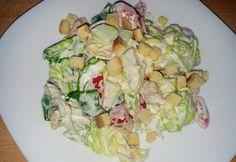 Cézár saláta, ahogy adelka05 készíti