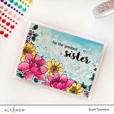 4/25/15.  Altenew Garden Treasure Stamp Set watercolored by @pr0digy0