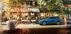 Porsche Macan S - CGI & Retouching on Behance