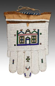 Tshogholo or Married Woman's Apron, Framed glass & brass beads on leather African Design, African Art, African Textiles, Married Woman, African Culture, Female Art, Beadwork, South Africa, Primitive