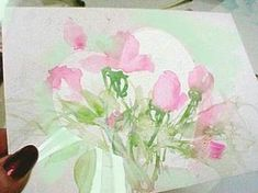 Tips for Painting Valentines with watercolor