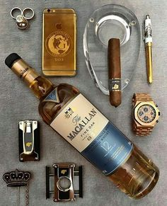 D Cigars And Whiskey, Pipes And Cigars, Scotch Whiskey, Whiskey Gifts, Good Cigars, Irish Whiskey, Bracelets Design, Cigar Bar, Cigar Club
