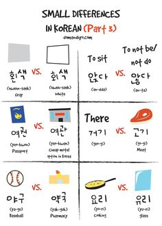 Small Differences In Korean (Part 3)