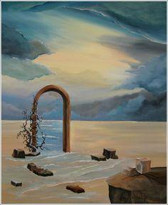 przejście - obraz na płótnie artist: Edyta Muszelik
