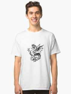 Dragon mythology Monster Classic T-Shirts