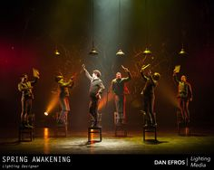 USITT Lighting Design Award sponsored by Barbizon 2014 winner Dan Efros' design for Spring Awakening at Carnegie Mellon University.