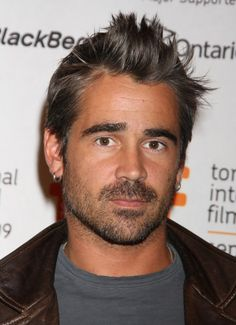 Colin Farrell: not to sound to fetishist, but... THE EYEBROWS.  And I'll take the Irish accent.  He can keep his bad-ass ways, they wouldn't do me any favors in the long run, I'm sure.