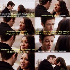 "#TheFlash 1x15 ""Out of Time"" - Barry and Iris"