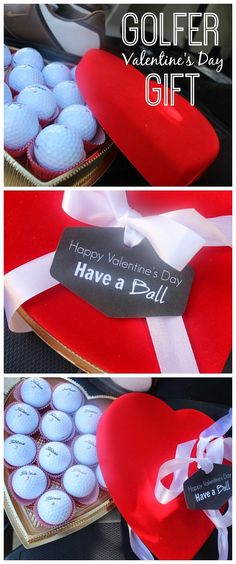 Valentine's Day Gift For A Golfer #valentinesdaygiftideas #valentinesday #DIYvalentinesdaygift