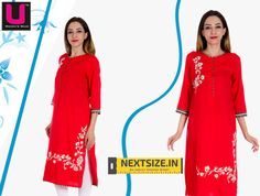 Stylish #kurtis for you with ideal fitting Grab them here :www.nextsize.in