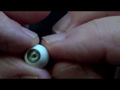 How to Make Doll Eyes- No Polymer Clay, Easy! - YouTube