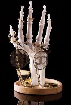 Skeleton Hand Jewellery Holder