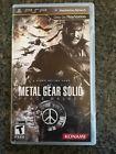 Metal Gear Solid Peace Walker (Sony PSP 2010)