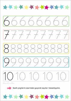 Montessori Math, Preschool Learning Activities, Preschool Worksheets, Classroom Activities, Teaching Math, Preschool Activities, Kids Learning, Grade R Worksheets, Numbers Preschool