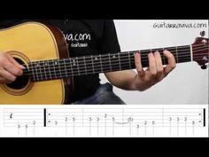 Como tocar LA BAMBA tutorial completo guitarra facil para principiantes CANCION FACIL - YouTube