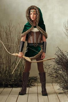 """Shop Chasing Fireflies for our Archer Costume for Girls. Browse our online catalog for the best in unique children's costumes, clothing and more."""