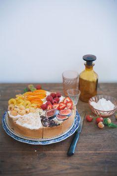 Artful Fruit Tart