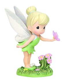 Precious Moments Disney Tinker Bell with Butterfly Figurine