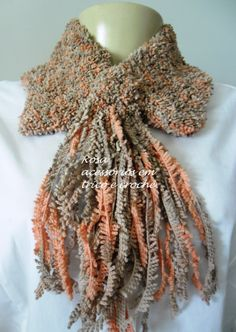 Colw knit - gola tricot by www.rosaacessorios.blogspot.com