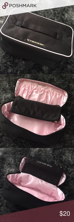 Victoria's Secret Lingerie Travel Bag Victoria's Secret Lingerie Travel Bag. Top Handle with Victoria's Secret emblem. Light, compact. Fit your bras, panties, and other little sexy things in this little travel bag. Beautiful condition Victoria's Secret Bags Travel Bags