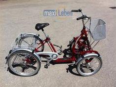 München Elektro Mobile Dreirad Fahrrad Primo-Quad, Gebrauchtfahrzeug Top in Ordnung, normale Gebrauchsspuren Nur Abholung, bzw evt Versand nach Absprac