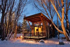 Tiny House in a Landscape -by Kent Griswold on January 18th, 2014