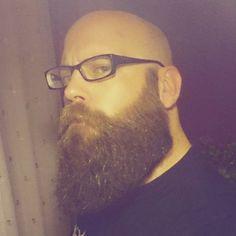 @rossyboy35 #beautifulbaldandbearded #beardmodel #beardstyle #beardmovement #baard #bart #barbu #beard #barba #bearded #barbudo #barbeiro #parta #getbearded #sakal #fullbeard #menwithbeard #barber #barbuto #barbershop #barbearia #beardlifestyle #boroda #beardlife #bxb4 #seebefch44 #worldbeardday2015