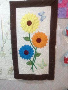 Quilted wall hanging....$40.00