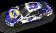 Hendrick Motorsports unveils all four 2018 Daytona 500 paint schemes By Staff report Nascar Cars, Race Cars, Chase Elliott Car, Ryan Blaney, Kyle Busch, Daytona 500, Bad To The Bone, Paint Schemes, October 5