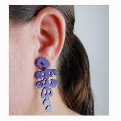 Wisteria Earrings by ByMadelineTrait on Etsy