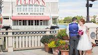 Wedding video at Disney Sprngs Fulton's restaurant captured by top Orlando wedding photographer & videographer