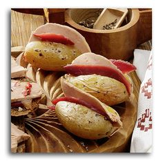 Les pommes de terre en robe des champs au Magret et au Foie Gras. #recette #foiegras #magret