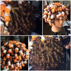Spiral perm set - Simone - Spiral perm set Spiral perm set Sure, the. Spiral perm set - Simone - S 2015 Hairstyles, Permed Hairstyles, Modern Hairstyles, Pretty Hairstyles, Hairdos, Medium Hair Styles, Curly Hair Styles, Natural Hair Styles, Hair Clips For Braids