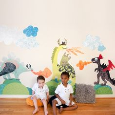 Rosenberry Rooms has everything imaginable for your child's room! Share the news and get $20 Off  your purchase! (*Minimum purchase required.) Dinosaurs to Dragons Wall Decals