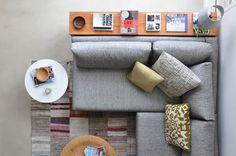o projeto do apartamento jovem, contemporâneo e integrado, é do escritório de arquitetura 2l