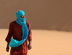 Africa    People.  Tuareg > Sahara desert > North Niger