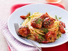 Spaghettis aux boulettes de veau - Recettes