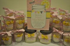 Pink Lemonade Baby Shower Favors
