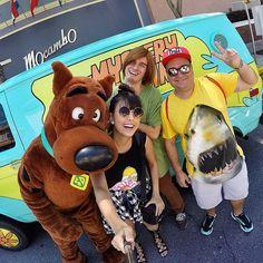Heyyy Scooby!  Com meu amigo e guia querido @dicasdojunior #aeroturismo #aerodisney15