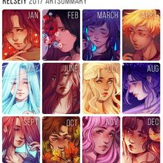 What are your art goals for In general i feel like 2017 was a good art year for me, i finished more illustrations than i have any other ye… Zodiac Signs Sagittarius, Zodiac Star Signs, Astrology Zodiac, Anime Zodiac, Zodiac Art, Zodiac Characters, Anime Characters, Zodiac Sign Fashion, Anime Comics